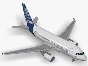 airbus house livery 3D