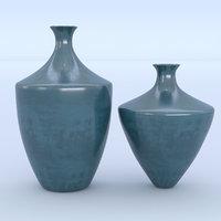 3D vases ceramic