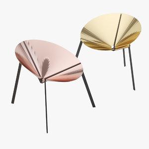 pensando ad acapulco chair 3D model