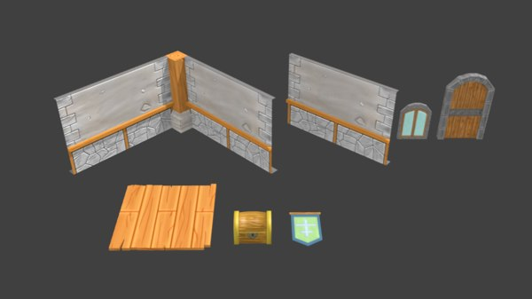 3D asset model