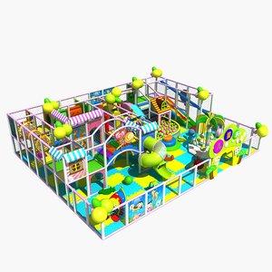 amusement park 6 3D model