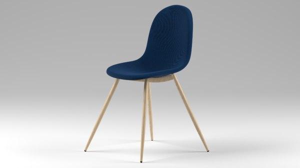 scandinavian chair 3D model