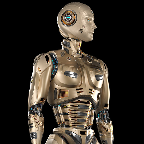 robot man 2 basic 3D