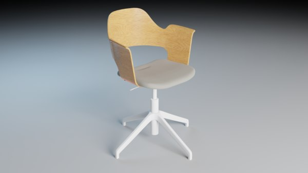 office chair ikea 3D model
