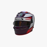 3D raikkonen 2019 helmet