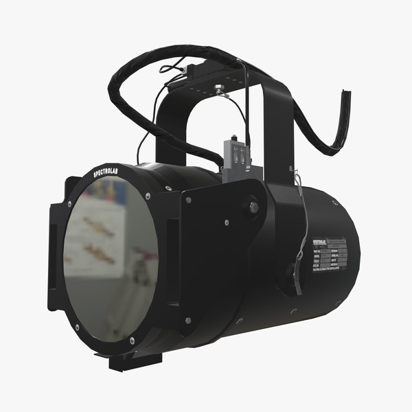 spectrolab sx-16 searchlight light 3D