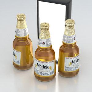 3D cerveza