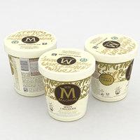 3D model ice cream
