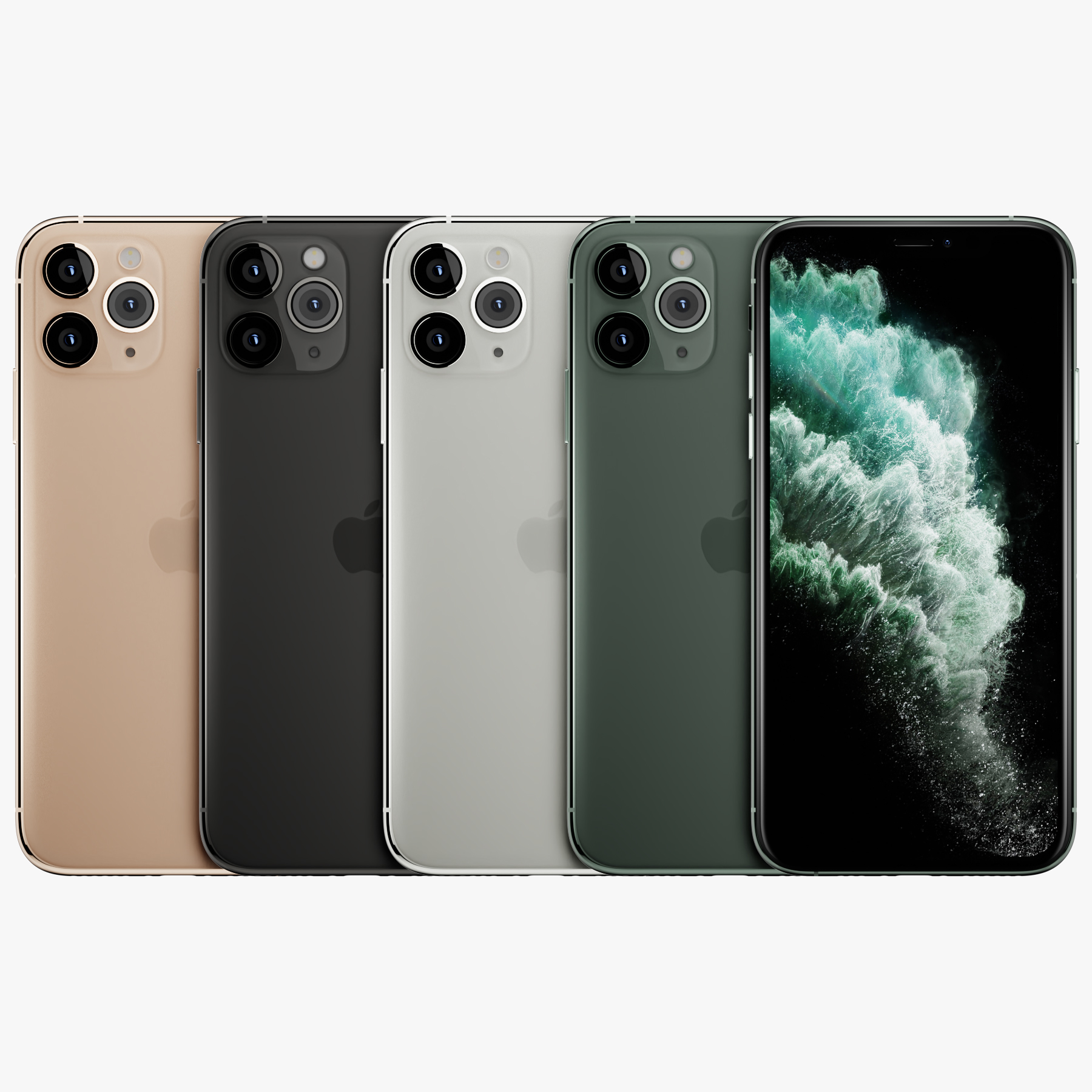 3D iphone 11 pro model