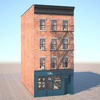 new york building 3D