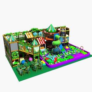 amusement park 7 3D model