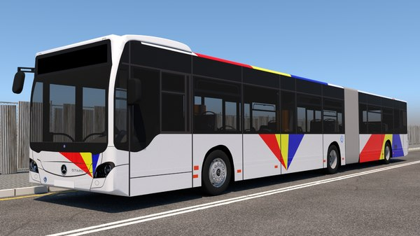 mercedes benz citaro 3D model