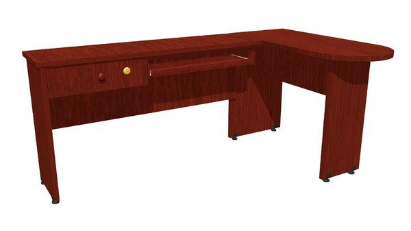 wood office desk model