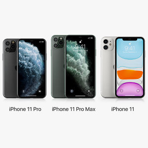 apple iphone 11 11pro 3D model