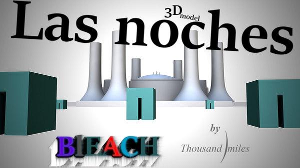 las noches palace 3D model