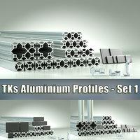 TKs Aluminium Profiles - Set #1