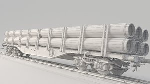 train pipes 3D
