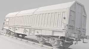 container train simms 3D