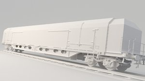 3D train container
