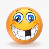 3D model emoji v006