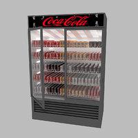 refrigerator market 3D model