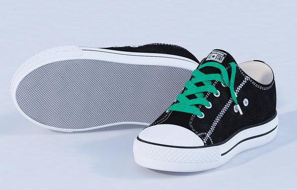 3D model shoe fashion sneaker