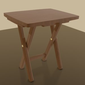 3D tray table