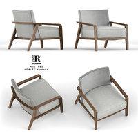 riva noble armchair 3D model
