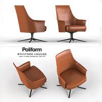 poliform stanford lounge 3D model