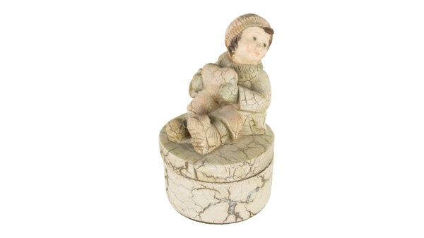 figurine scan 3D model