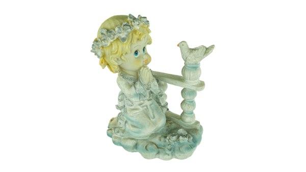 3D girl figurine