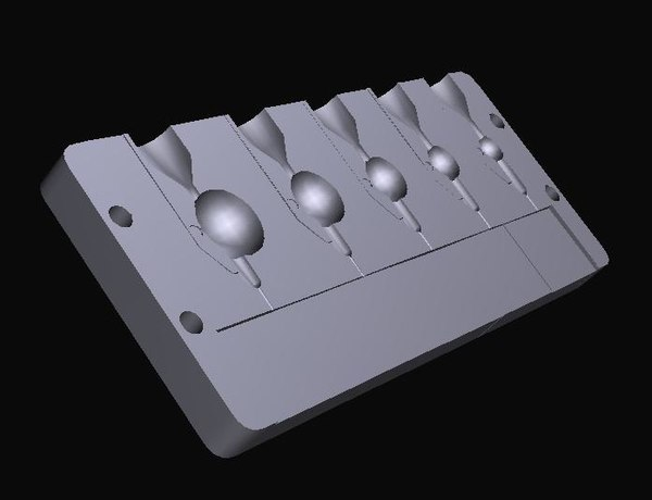 mold jig heads 3D