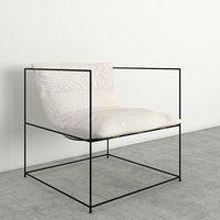 3D lazy chair