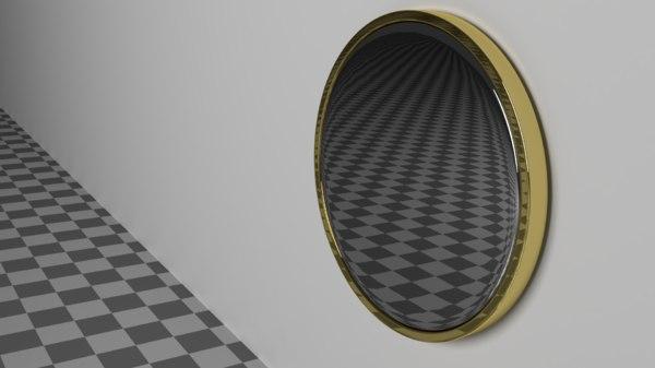 mirror indoor 3D model