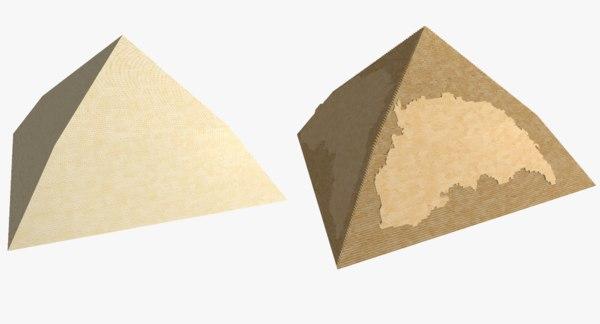 bent pyramid 3D