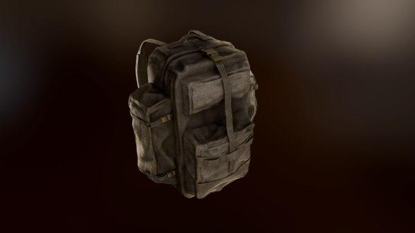 backpack tactical 3D model