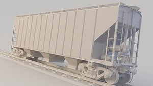 train hopper ehsx 3D model
