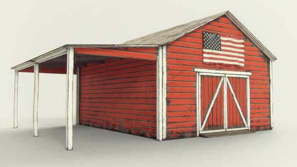 barn door 3D