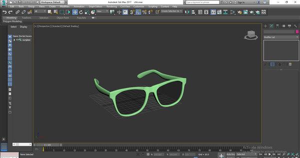 sunglasses shades 3D model