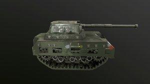tank track 3D