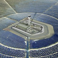 ivanpah solar power facilities 3D model