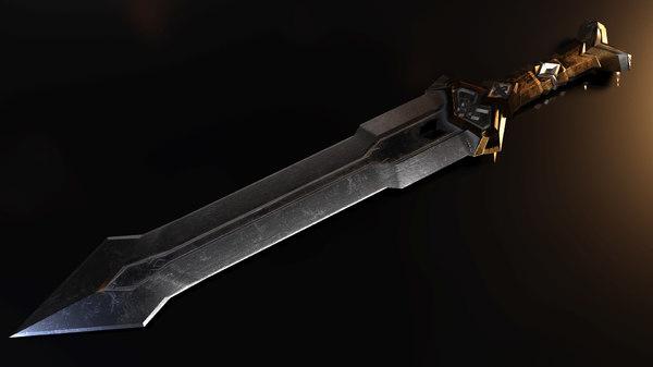 3D thorin s deathless sword model