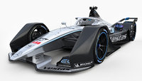 Formula E Mercedes Benz EQ Silver Arrow 01