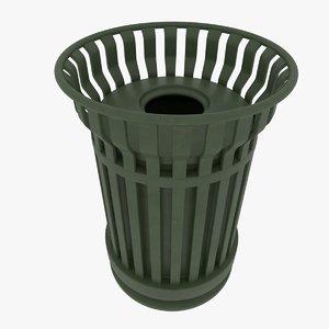 trash cleaning 3D model