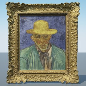 3D vincent van gogh paintings