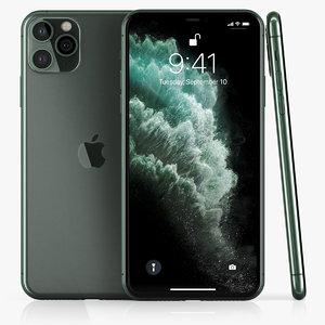 3D apple iphone 11pro prototype