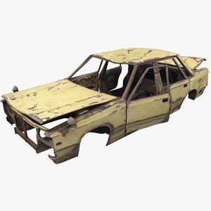 generic rusty pbr 3D model
