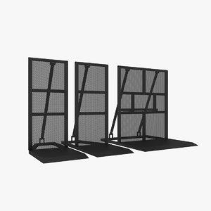 3D barrier v1