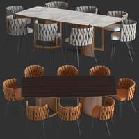 loftdesigne chair 2675 table model