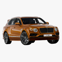 2020 bentley bentayga speed 3D